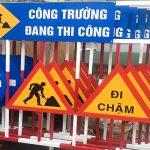 Làm biển báo công trình xây dựng giá rẻ tại TP.HCM